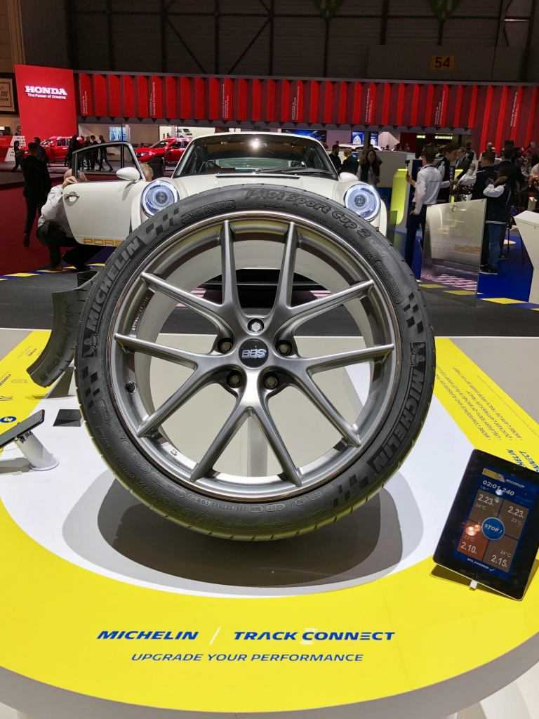 Michelin Pilot Sport Cup2al Salone di Ginevra 2019