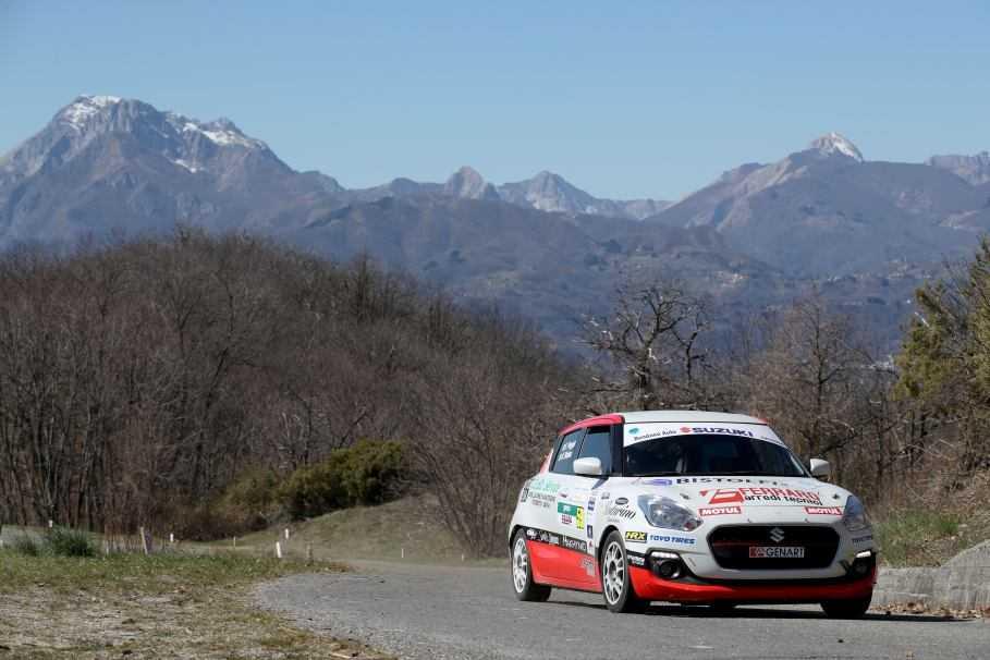 Suzuki Rally Cup al Ciocco: prima di Poggio e Briano