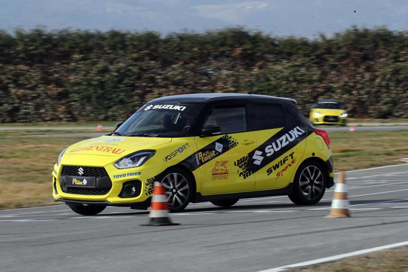 Suzuki partecipa al successo di Aci Rally Italia Talent 2019