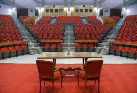 Radio Beatin scena presso l'Auditorium del Seraphicum