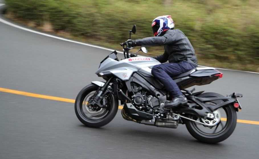 Suzuki presenta il Katana Hill Climb Tour