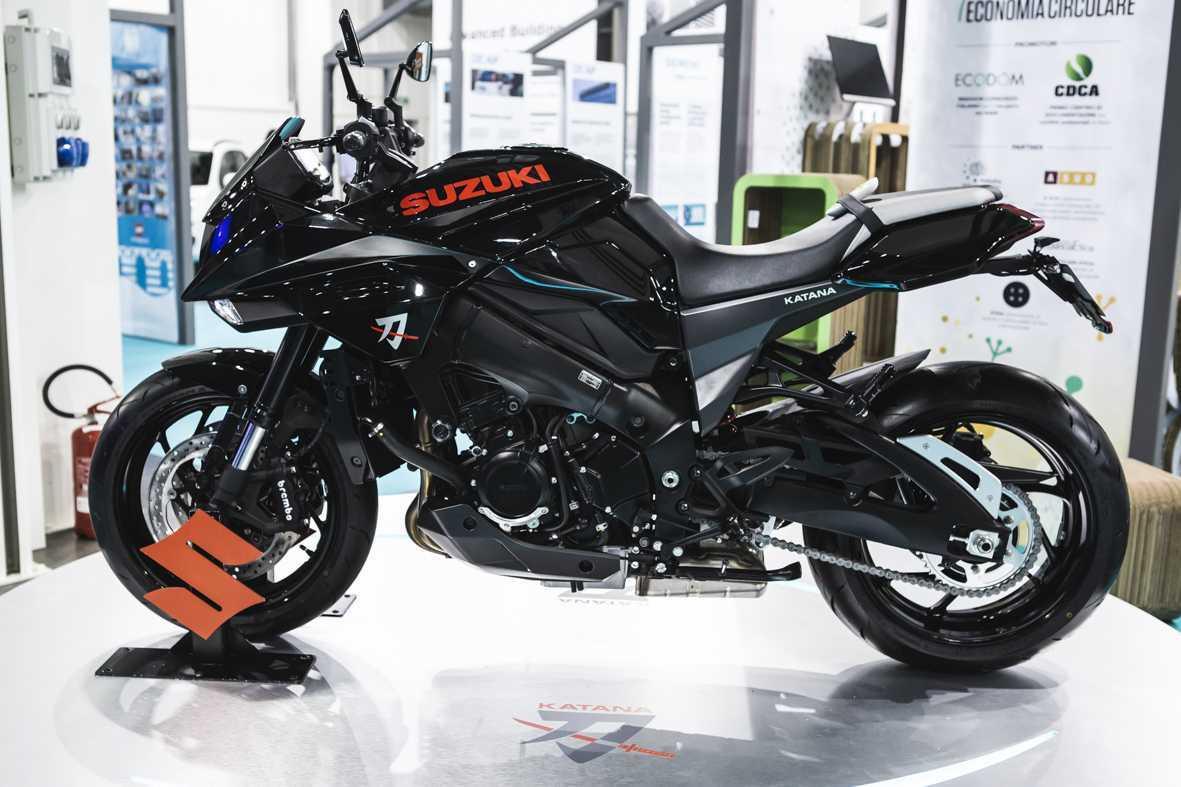 Suzuki Katana: un debutto in grande stile