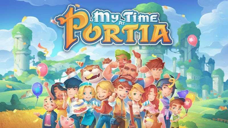 My Time at Portia: arriva su Console il 16 Aprile