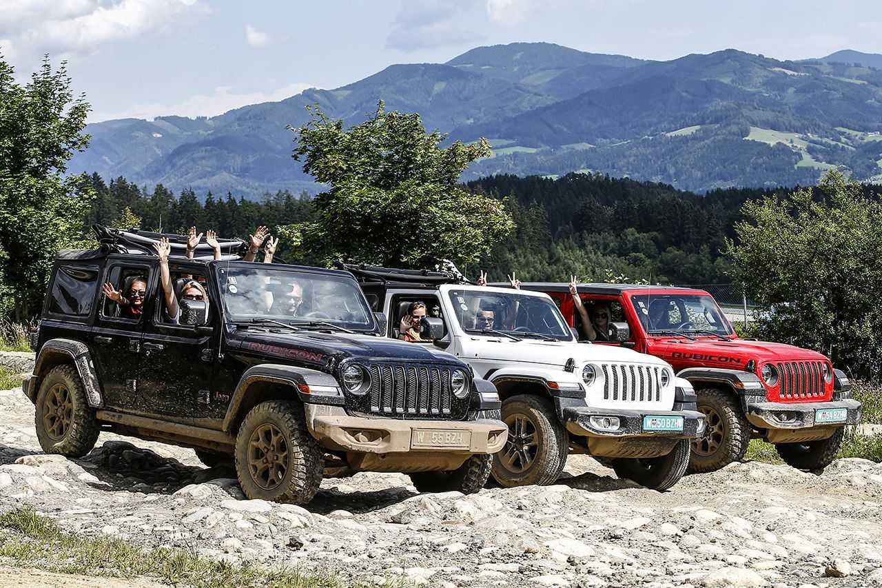 Arriva negli showroom Jeep la nuova gamma Night Eagle
