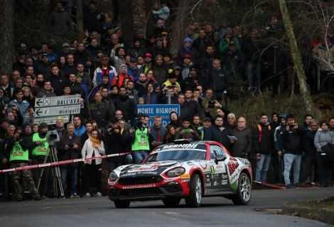 Terza vittoria consecutiva in FIA R-GT per l'Abarth 124 rally