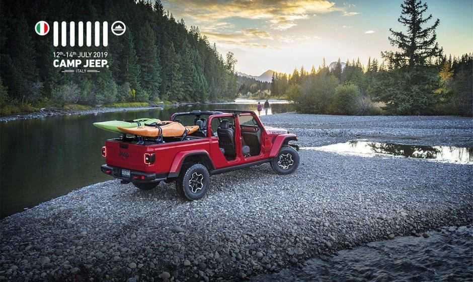 Camp Jeep 2019: anteprima europea della nuova Jeep Gladiator