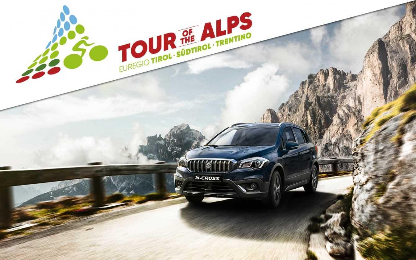 Suzuki è Official Car del Tour of the Alps 2019