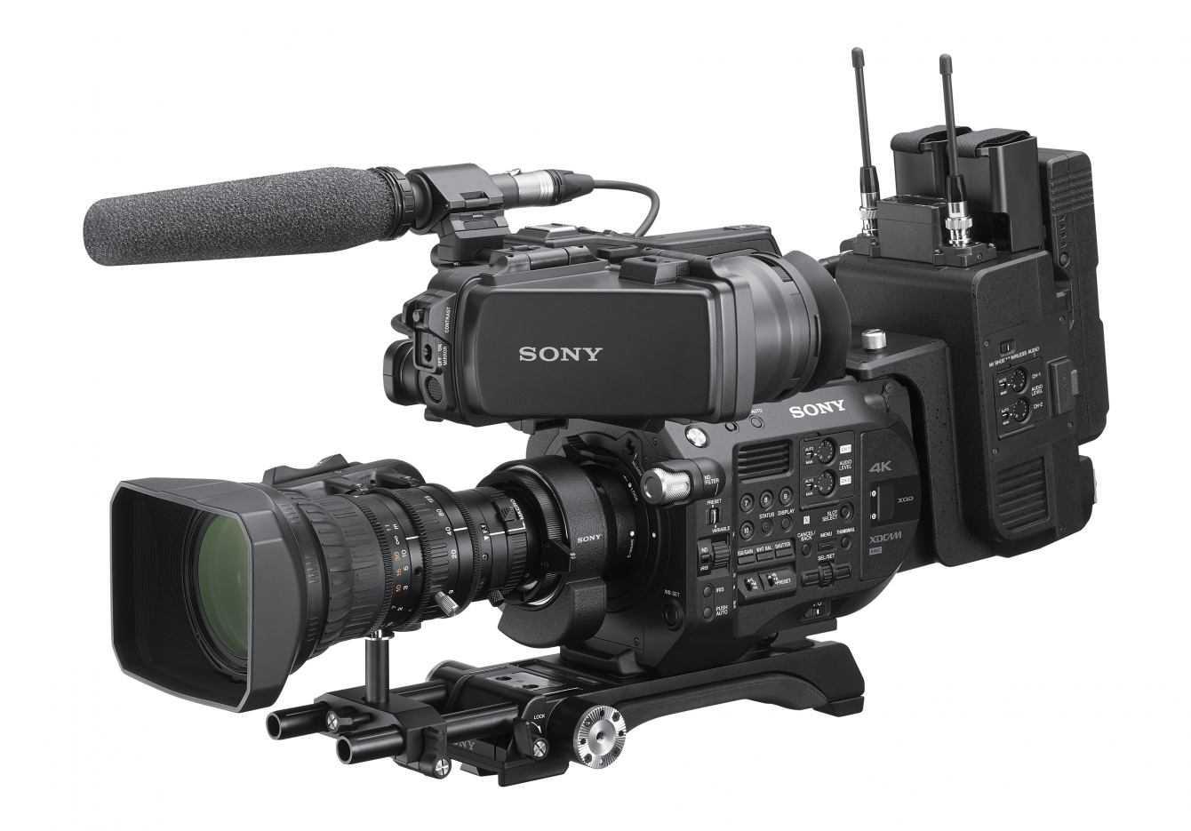 Sony potenzia i camcorder FS7 e FS7 II con il nuovo kit integrato