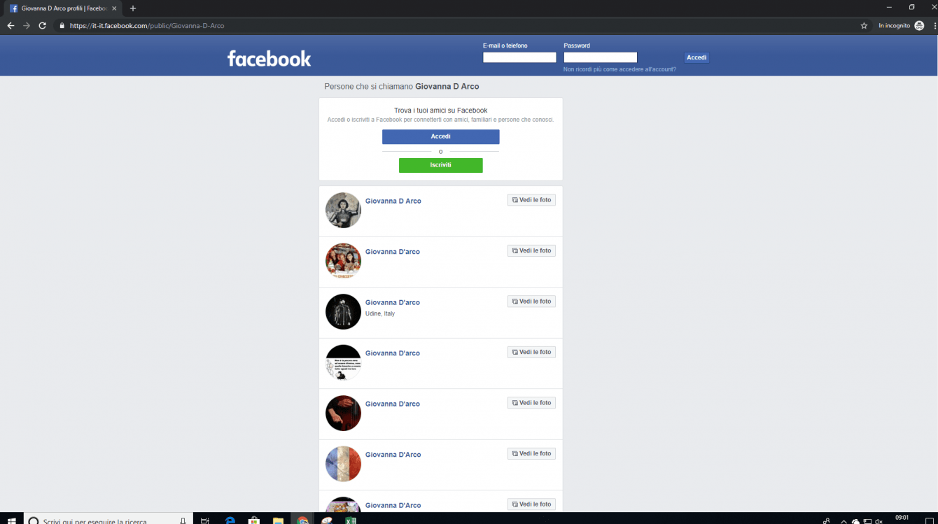 Facebook: accedi come visitatore senza registrazione o login