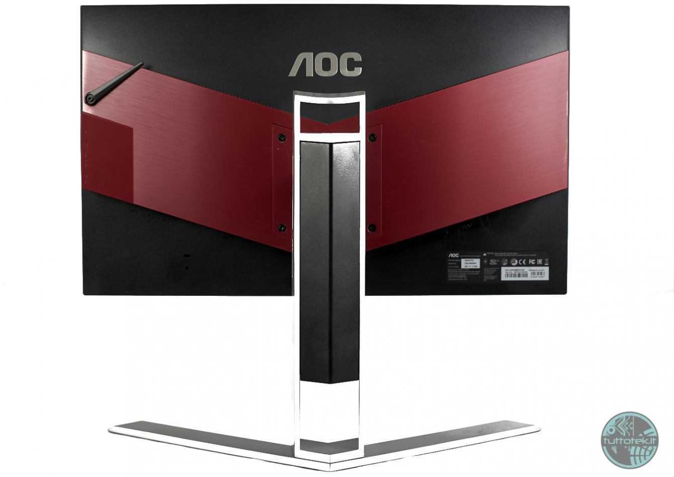 Recensione AOC Agon AG251FG: test e calibrazione superati?