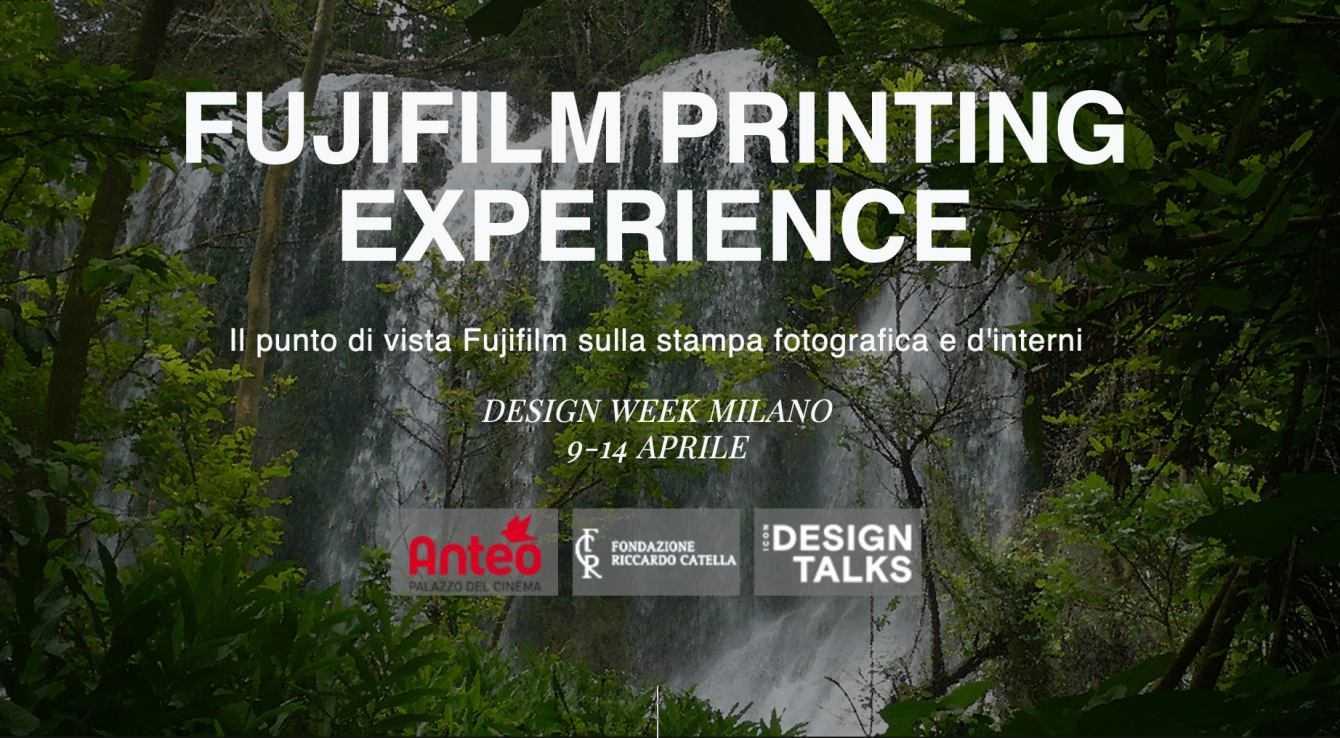 Fujifilm Italia partner di Icon Design Talks e IDD