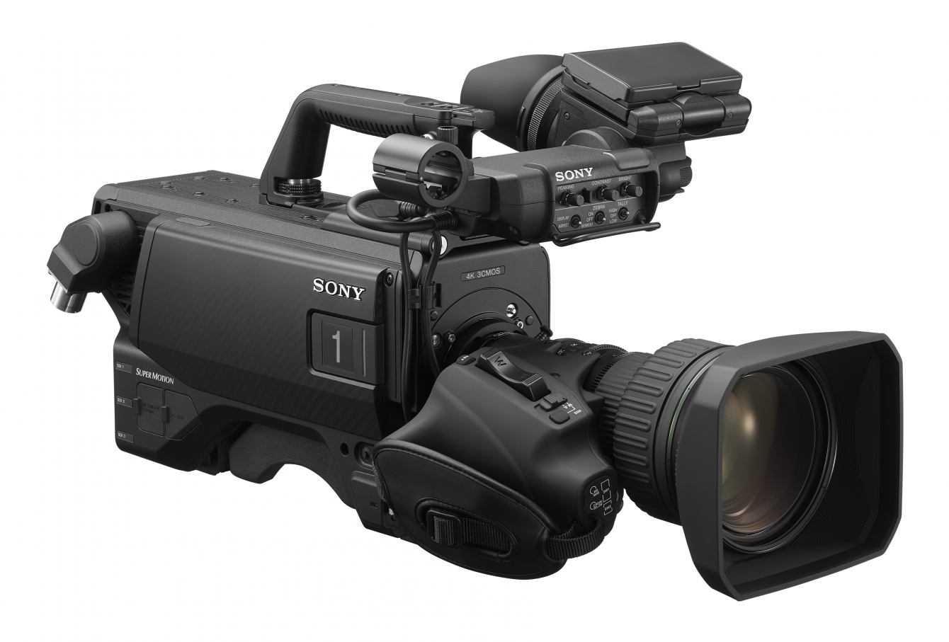 Sony NAB 2019 - Sony potenzia il workflow live 4K HDR