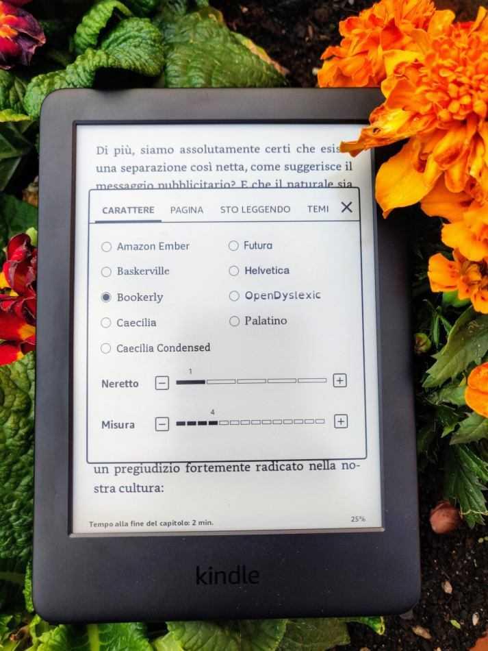 Recensione Amazon Kindle 2019: punto d'ingresso