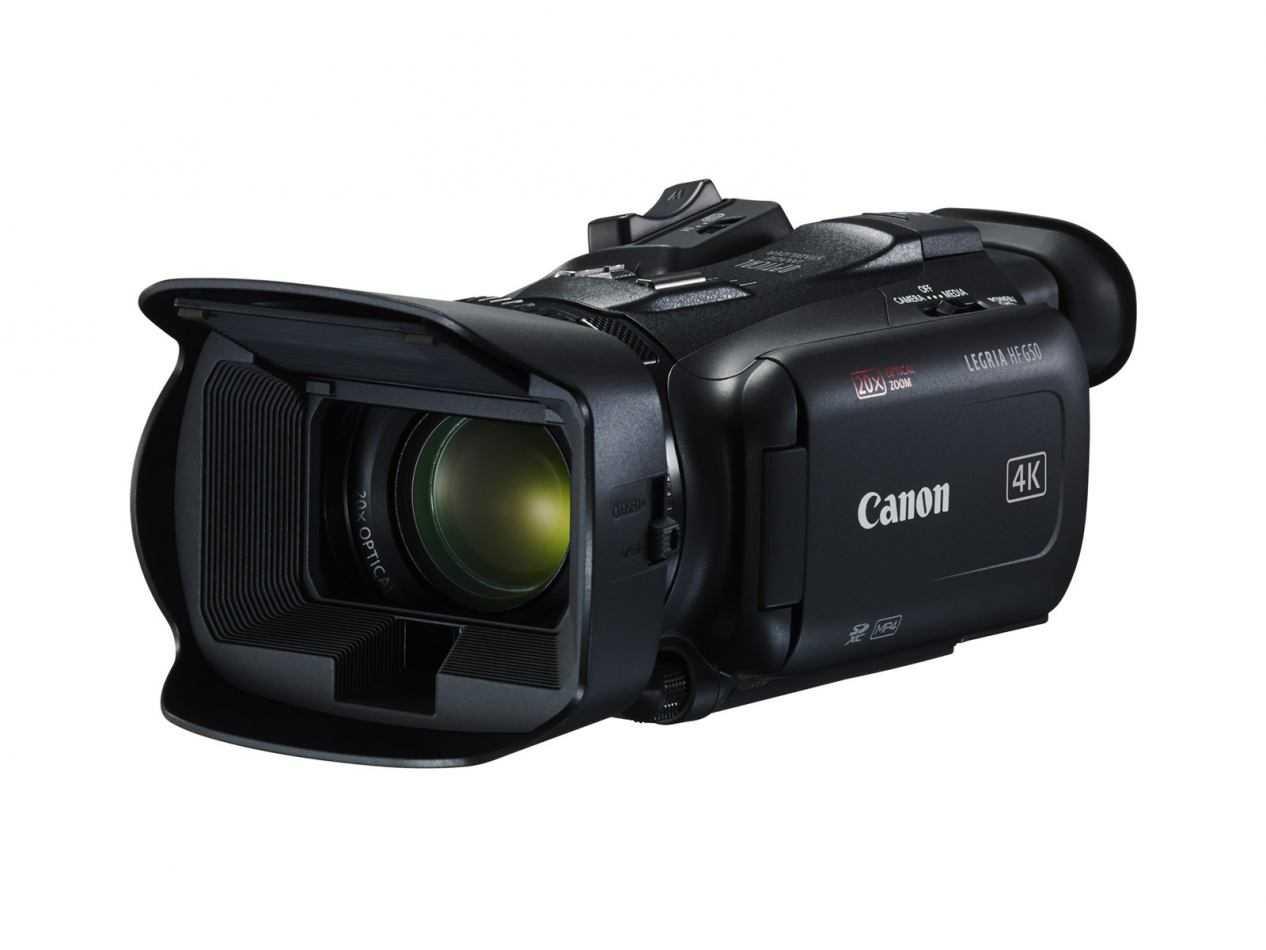 Canon LEGRIA HF G50 e G60: riprese 4K con ottica zoom