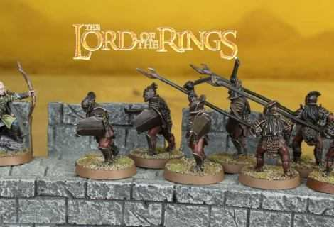 Come dipingere miniature Games Workshop - Tutorial 38: Uruk-hai del Fosso di Helm