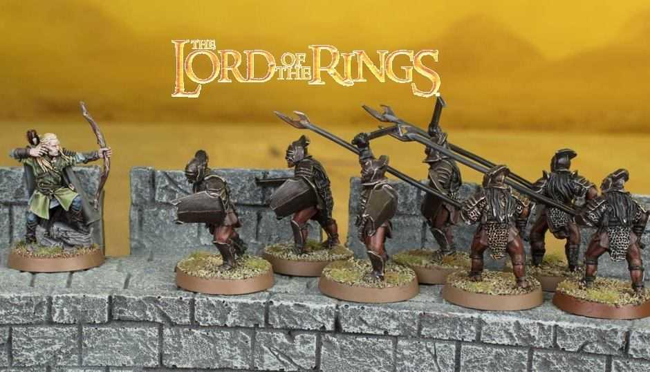 Come dipingere miniature Games Workshop – Tutorial 38: Uruk-hai del Fosso di Helm
