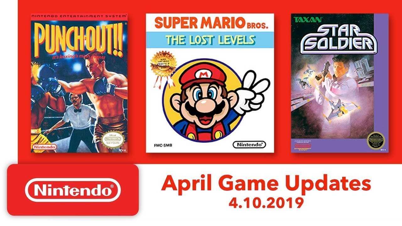 Nintendo Switch: rivelati i giochi NES gratuiti di Aprile 2019