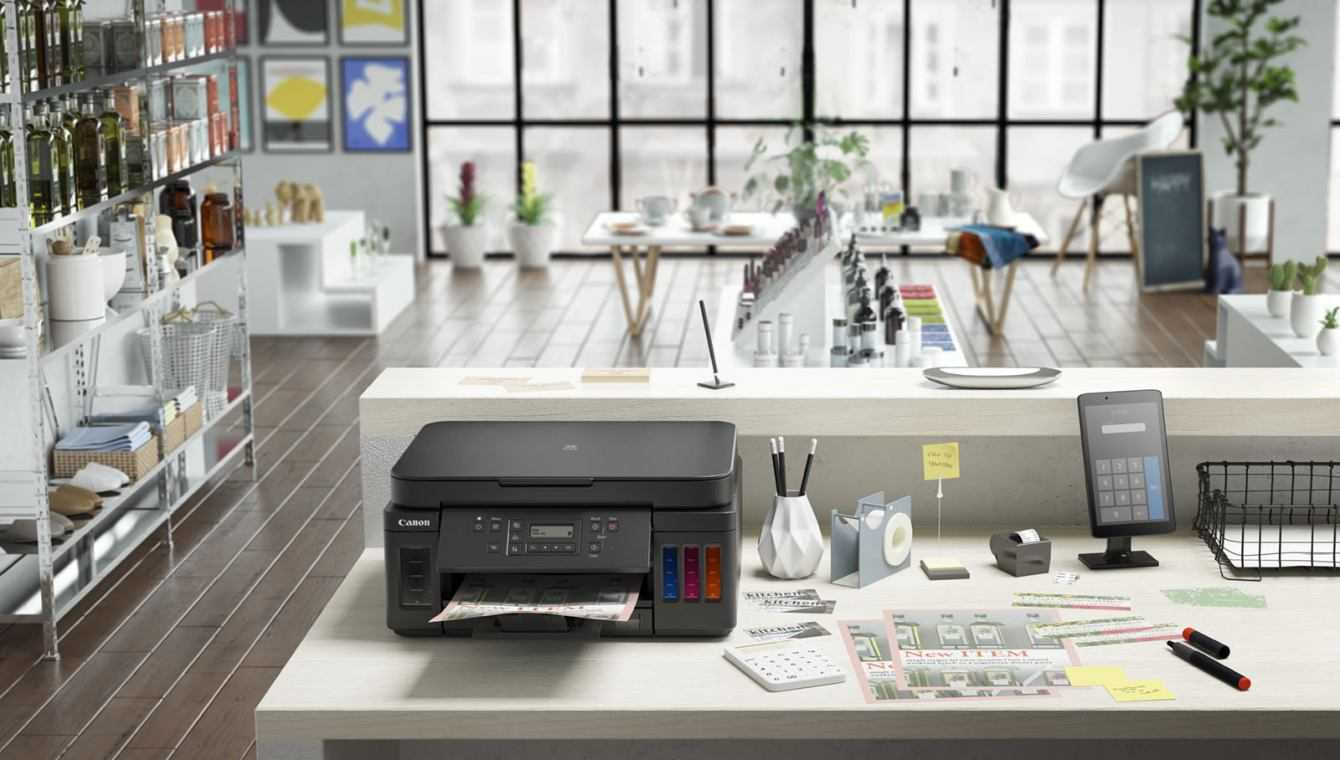 Canon: nuove stampanti con serbatoi d'inchiostro ricaricabili