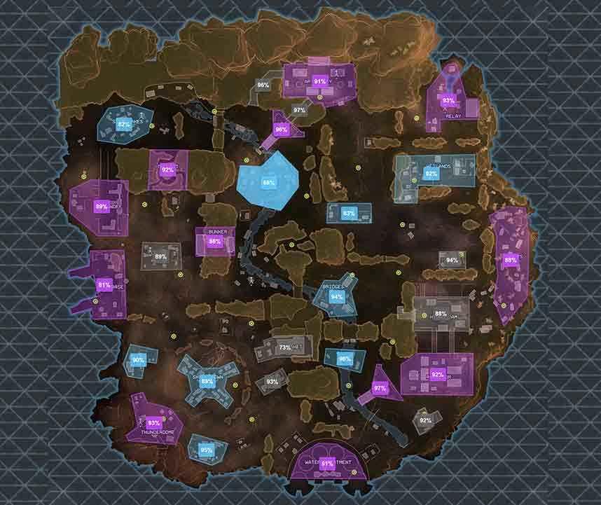Apex Legends - Canyon del Re: migliori zone di atterraggio e loot | Guida