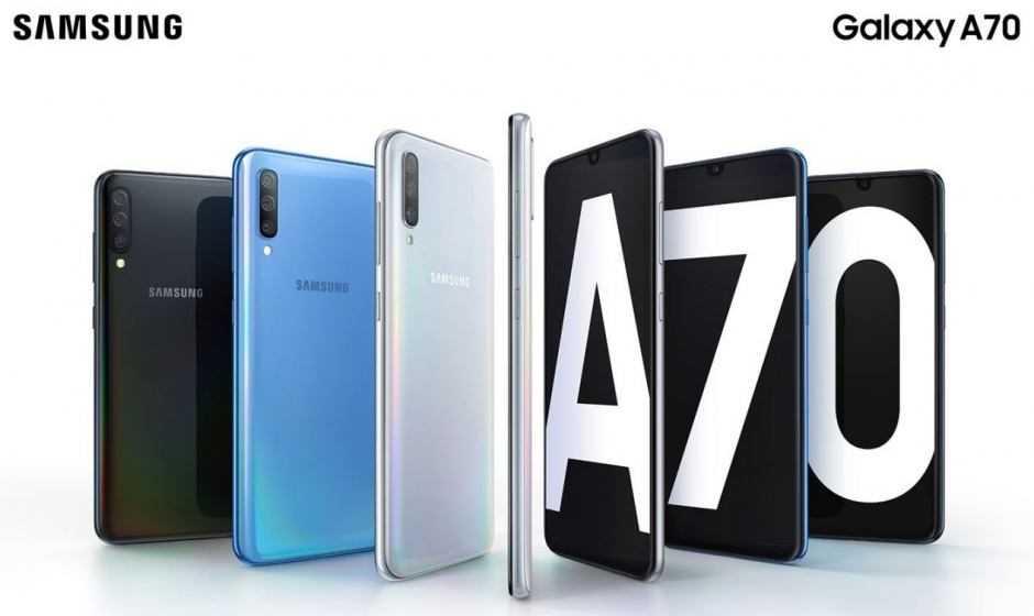 Ufficiale Samsung Galaxy A70: scheda tecnica, prezzo e uscita