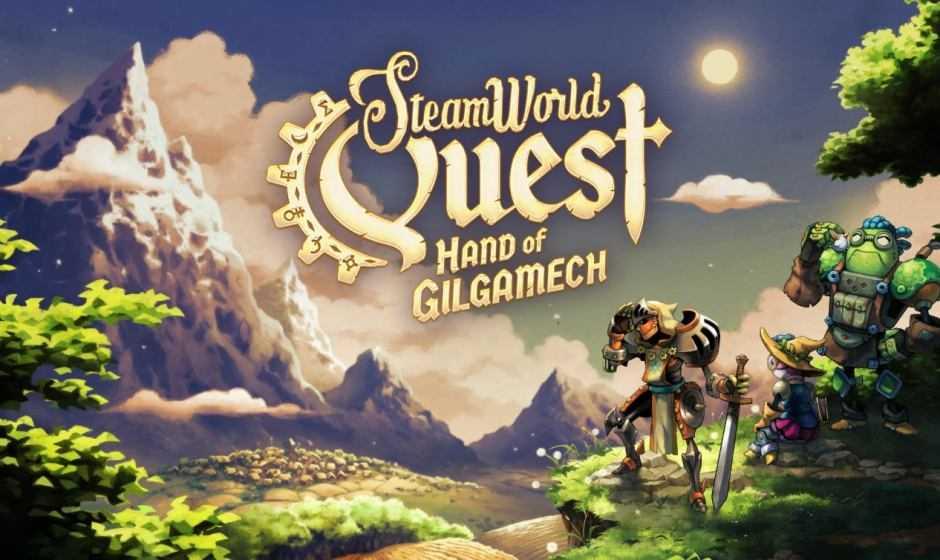 SteamWorld Quest: Hand of Gilgamech, carte steampunk | Recensione