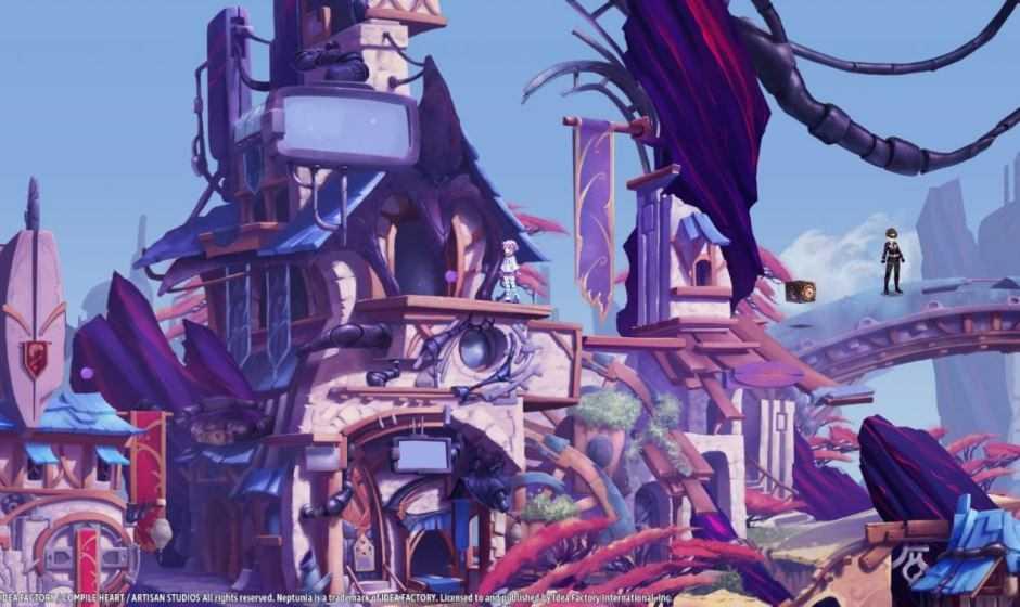 Super Neptunia RPG presenta le sue protagoniste