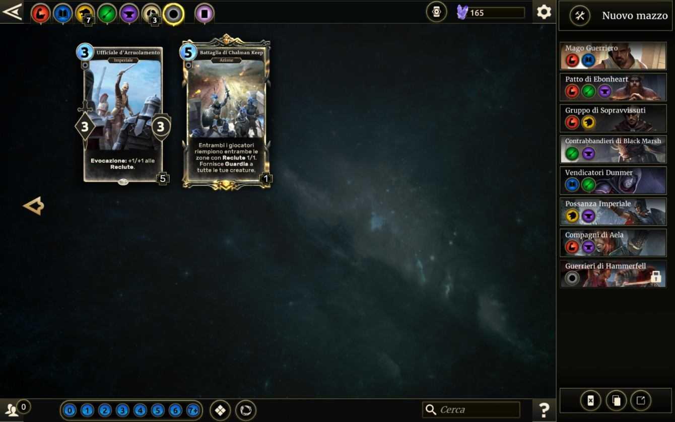 Recensione The Elder Scrolls: Legends, Guerra delle Alleanze