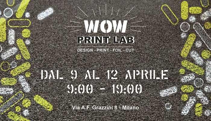 """Canon alla Milano Design Week con """"Wow Print Lab"""""""