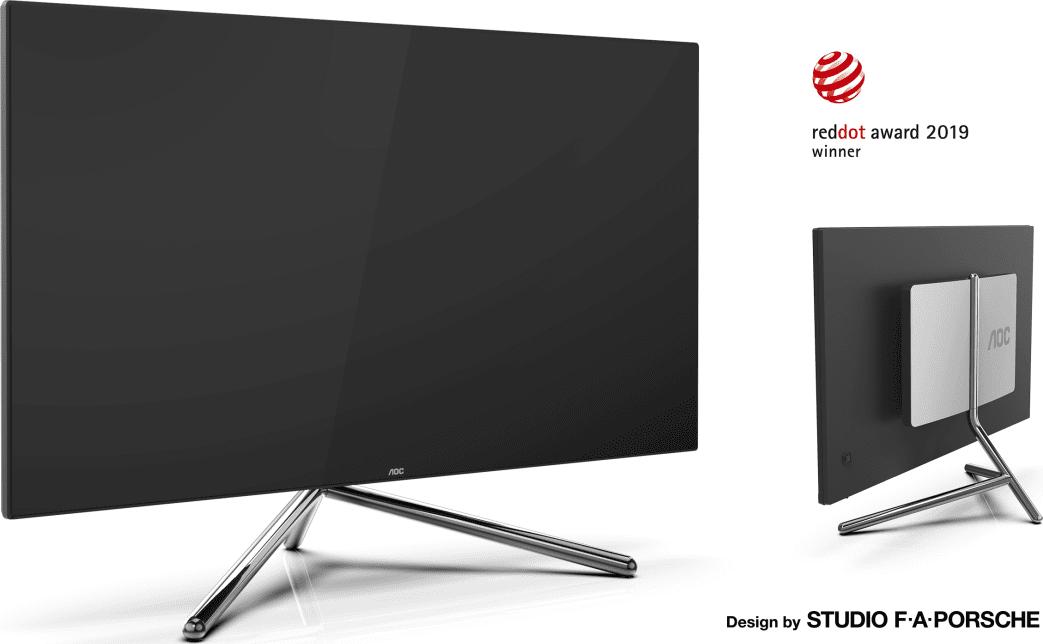 Due nuovi monitor AOC ideati dallo Studio F. A. Porsche