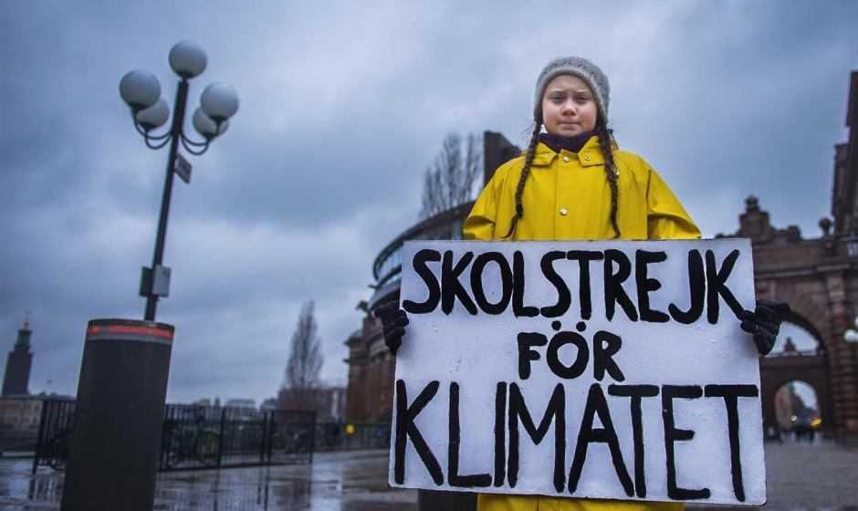 """Greta Thunberg arriva in libreria con """"La nostra casa è in fiamme"""""""
