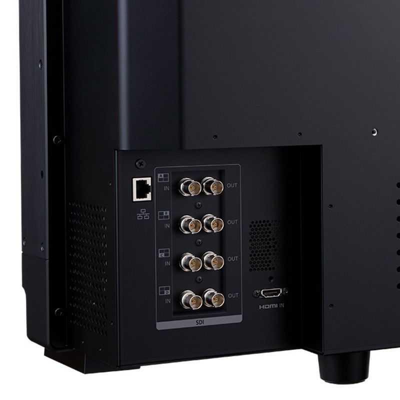 Canon: aggiornamenti per i monitor 4K professionali