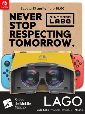 Fuorisalone 2019: Nintendo guarda alle famiglie