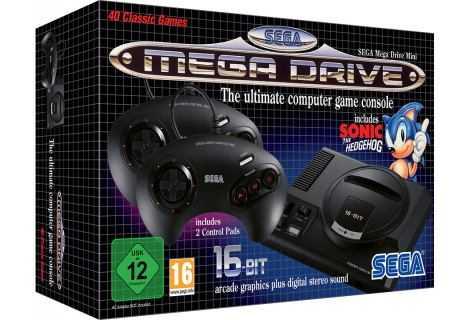 Sega Mega Drive Mini, nuovi titoli saranno svelati prima dell'E3