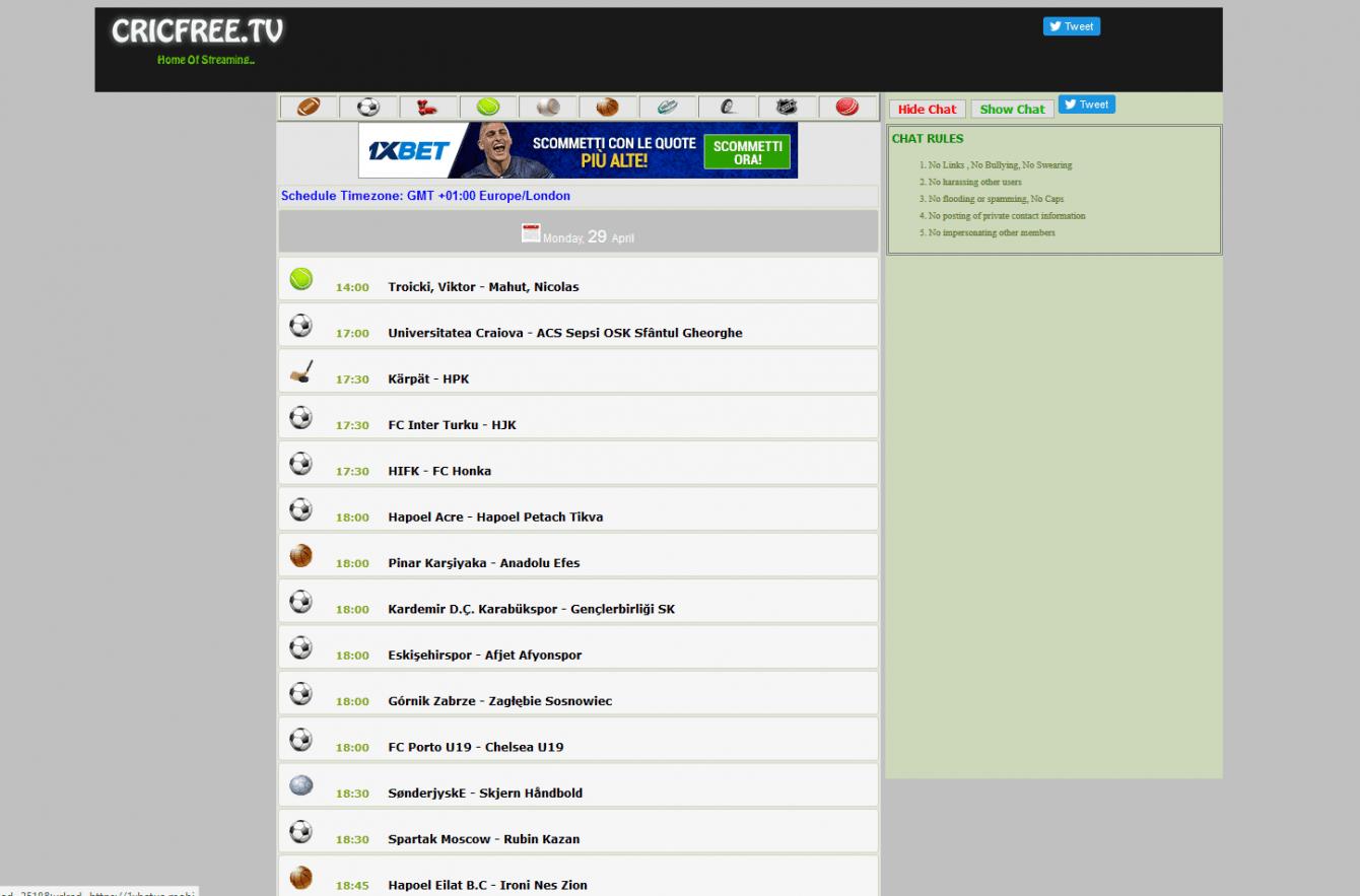 Migliori siti streaming tennis gratis | Luglio 2021