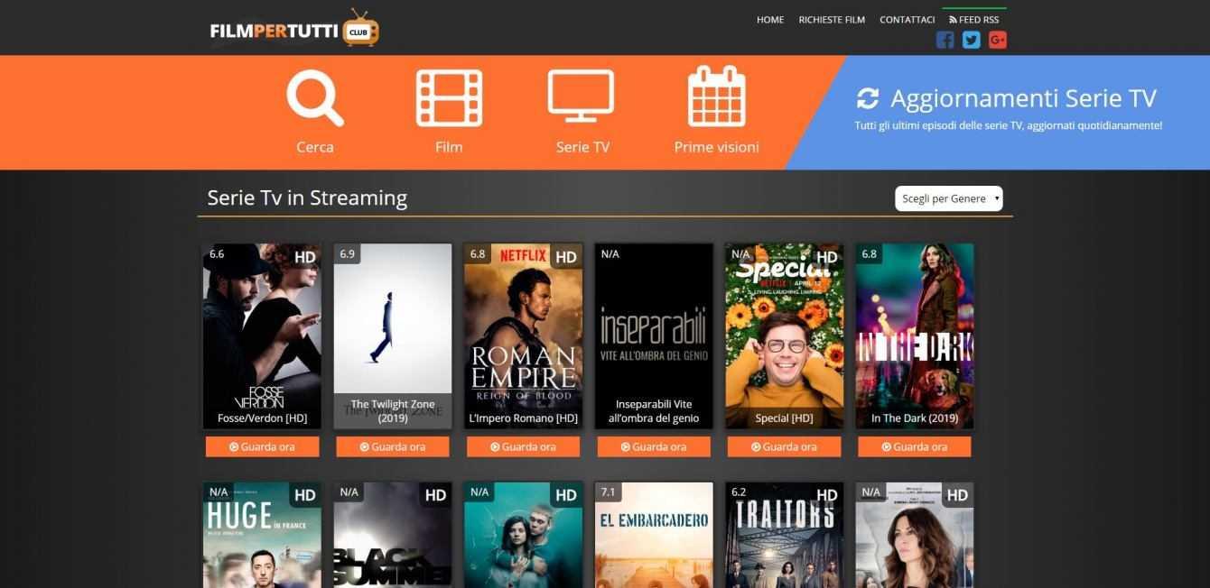 Film streaming gratis: siti senza registrazione | Dicembre 2020