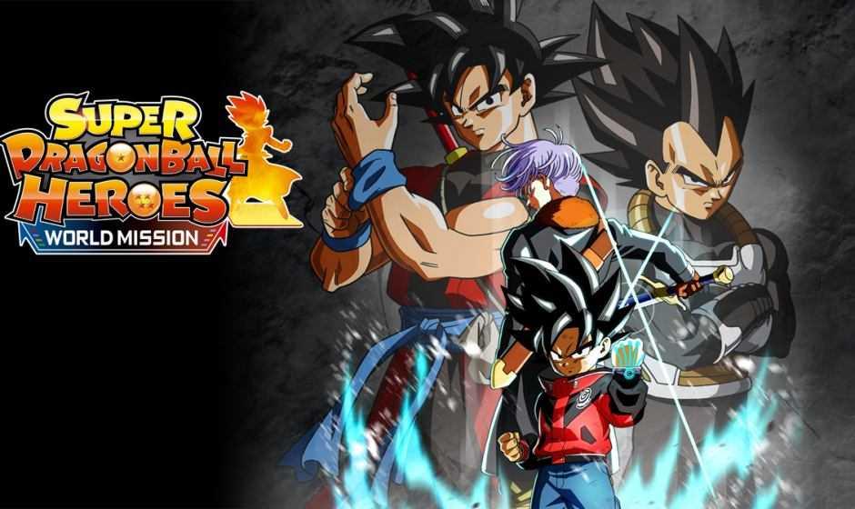 Disponibile da oggi Super Dragon Ball Heroes World Mission
