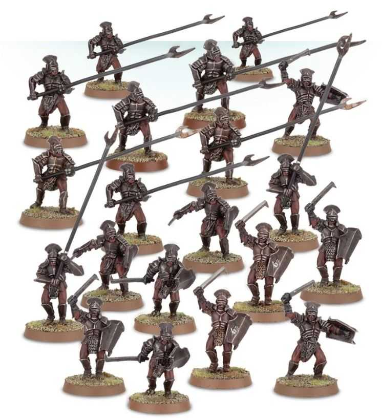 Come dipingere miniature Games Workshop - Tutorial 38: Uruk-hai del Fosso di Helm