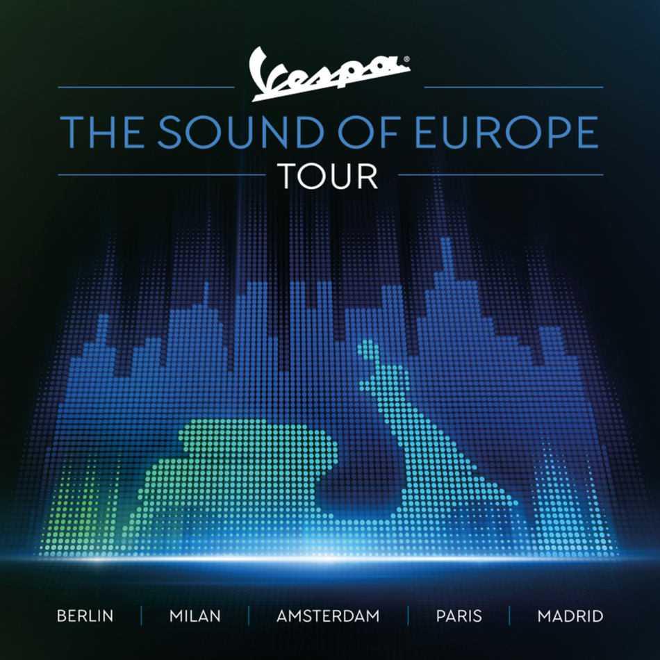 Vespa è la stella dell'estate 2019: tour capitali glamour d'Europa