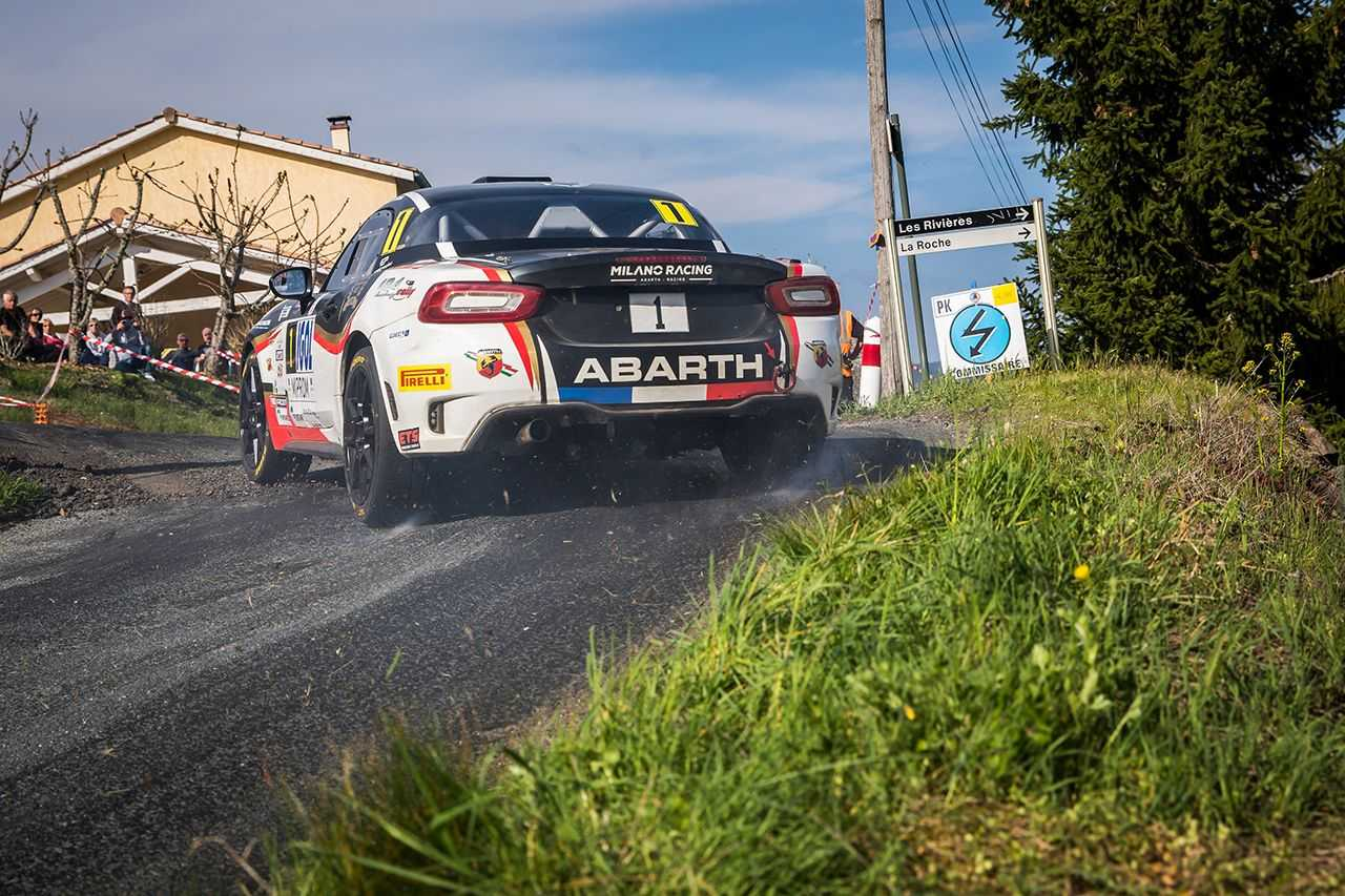Abarth Rally Cup 2019: l'Abarth 124 rally torna in Spagna