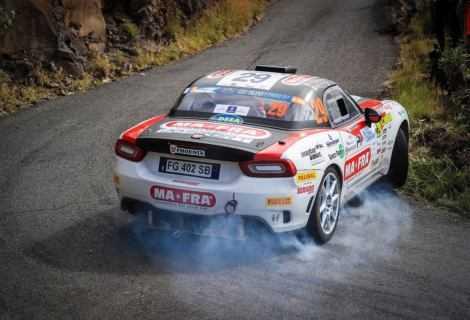 Secondo appuntamento dell'Abarth Rally Cup in Lettonia
