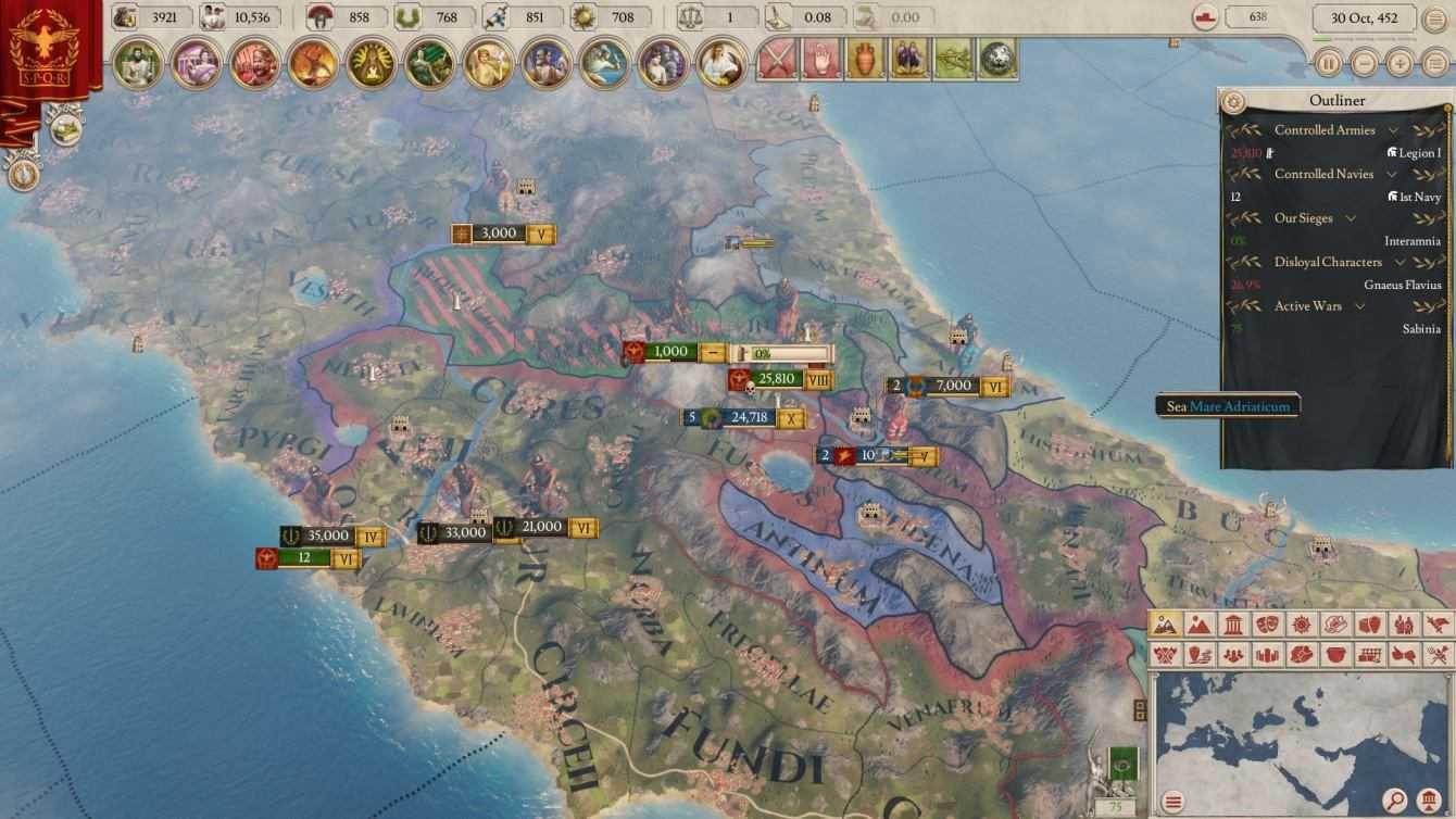Recensione Imperator: Rome - L'ennesimo strategico su Roma?