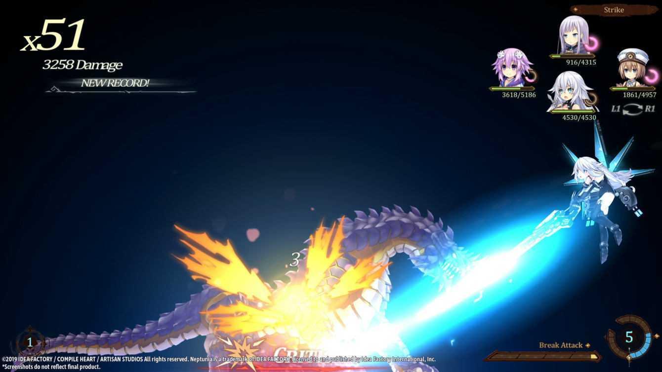 Super Neptunia RPG si mostra con nuovi screenshot di gioco