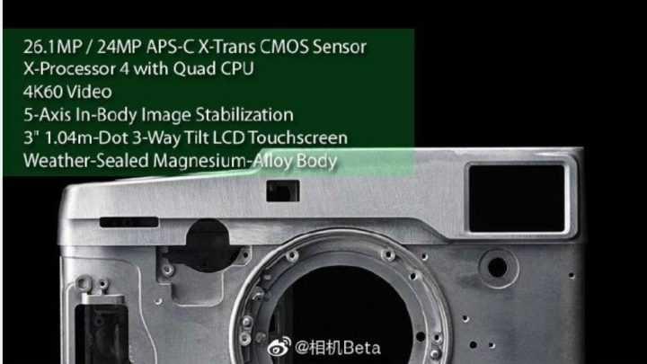 Fujifilm X-T4 e Fujifilm X-Pro3: le prossime mirrorless APS-C