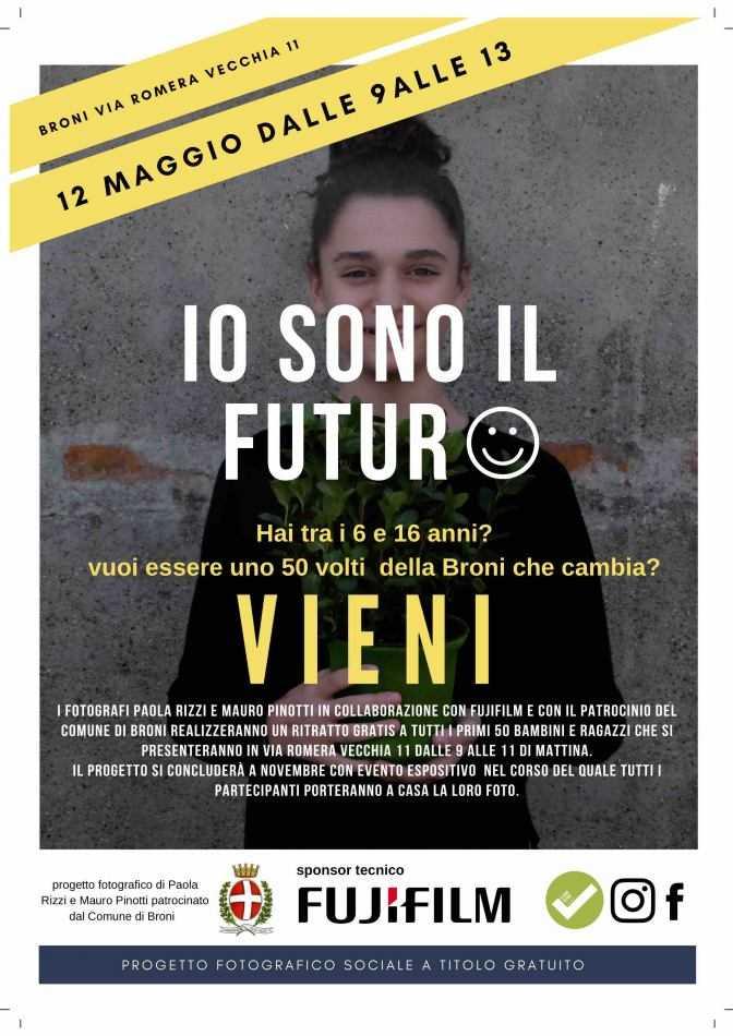 """FUJIFILM ITALIA al sostegno di """"Io sono Futuro"""""""