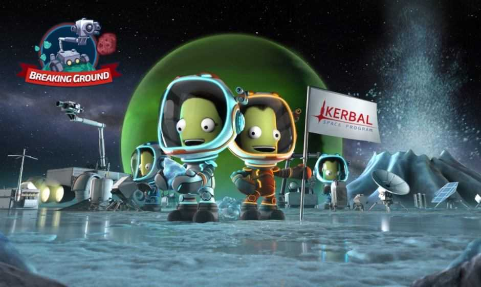 Breaking Ground per Kerbal Space Program disponibile per PC