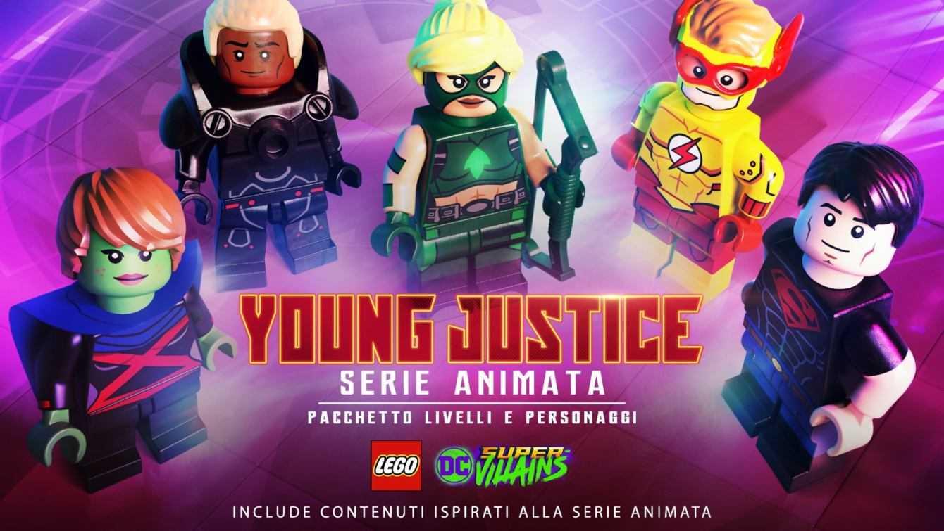 LEGO DC Super-Villains: arriva Serie animata Young Justice