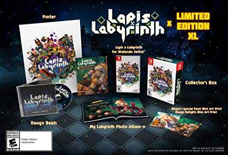 Lapis X Labyrinth arriva su Nintendo Switch e PlayStation 4
