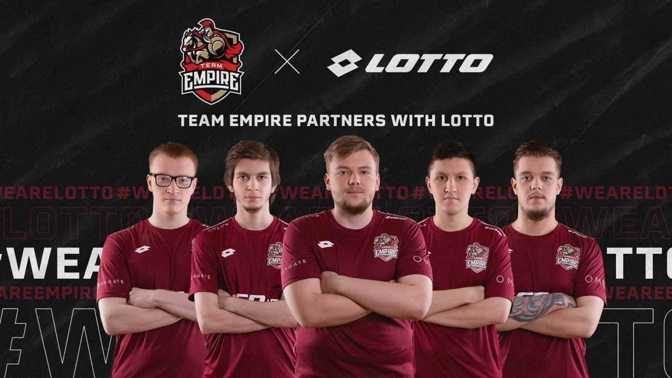 Lotto Sport Italia sponsor tecnico di Team Empire