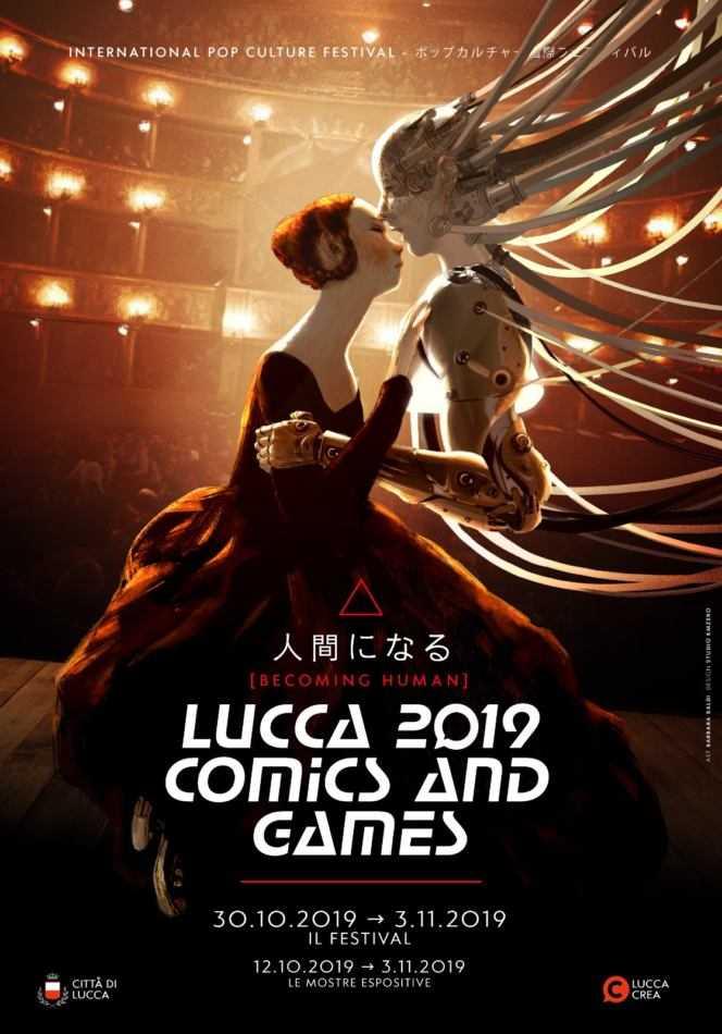 Lucca Comics & Games 2019: Becoming Human