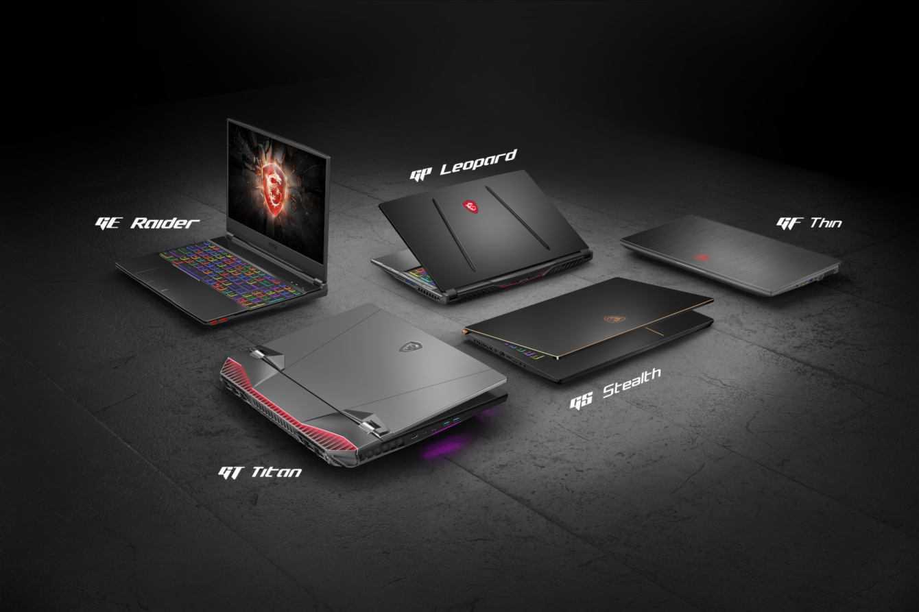 GT76 Titan e GE65 Raider sono i nuovi gaming laptop di MSI